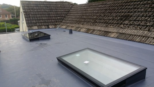 Rooflights for extra natural light.