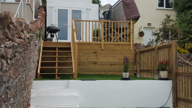 Torbay Builder Garden Renovation 3