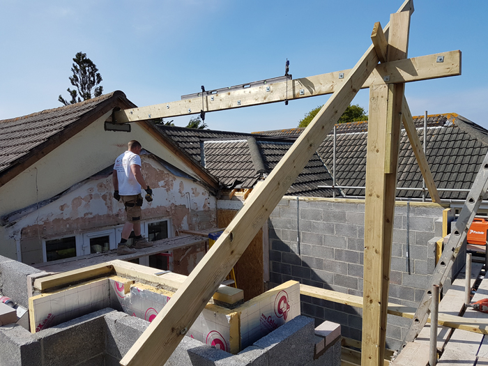 Torbay South Hams Builder - Gable extension 8