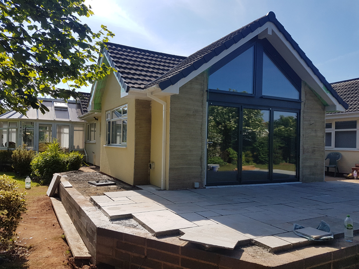 Torbay South Hams Builder - Gable extension 2