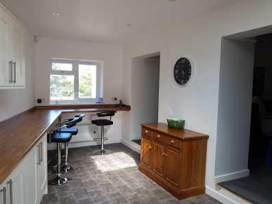 Large kitchen extension paignton