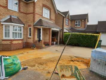 Churston Builders block paving 4