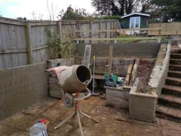 Garden refurbishment Paignton 4