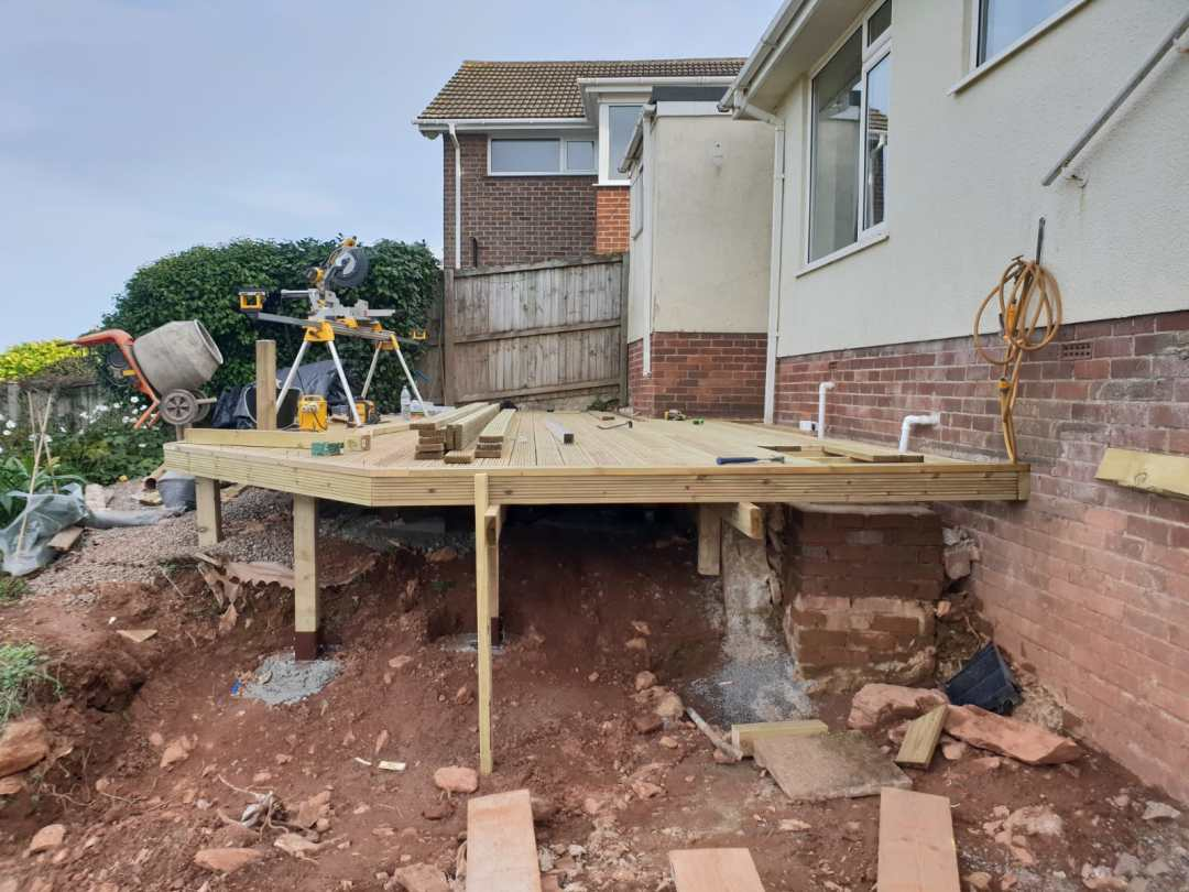 Broadsands, Paignton exterior renovations 11