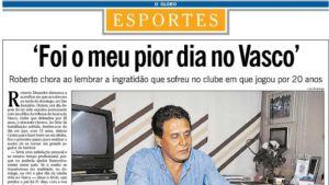 Dinamite expulso tribuna Vasco