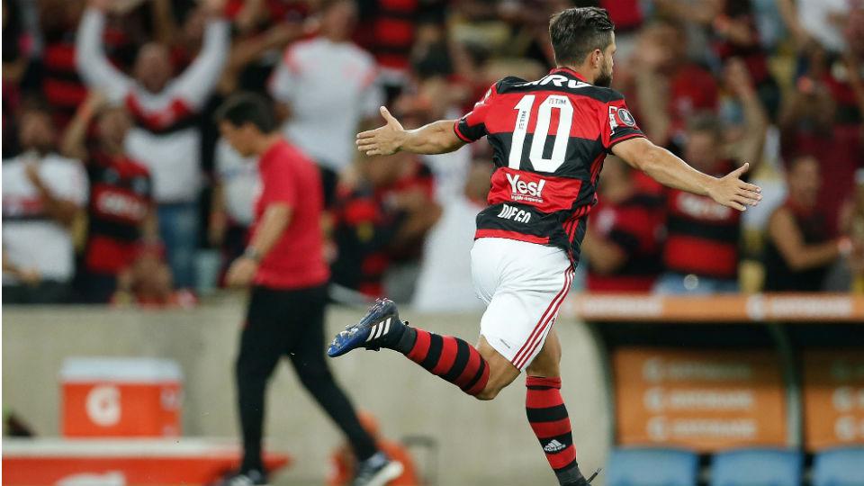 Diego Flamengo San Lorenzo Libertadores 2017