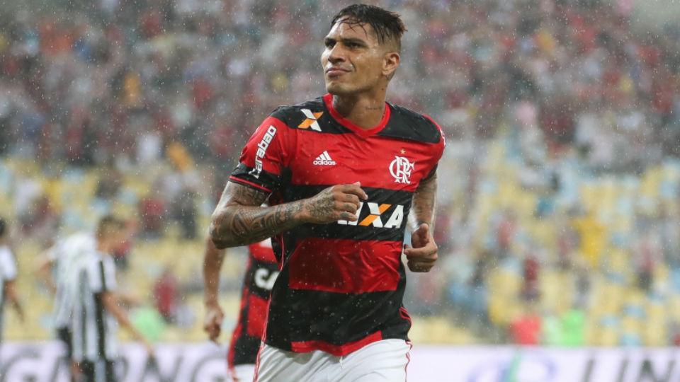 Guerrero Flamengo Botafogo semifinal Carioca 2017