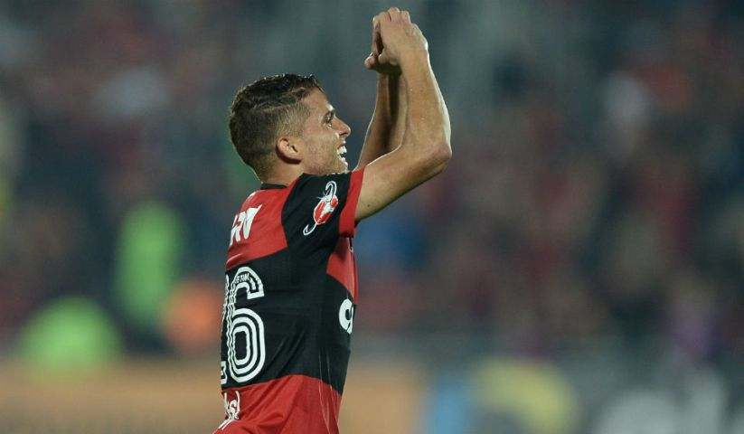 Cuellar gol Santos Flamengo Ilha do Urubu Copa do Brasil