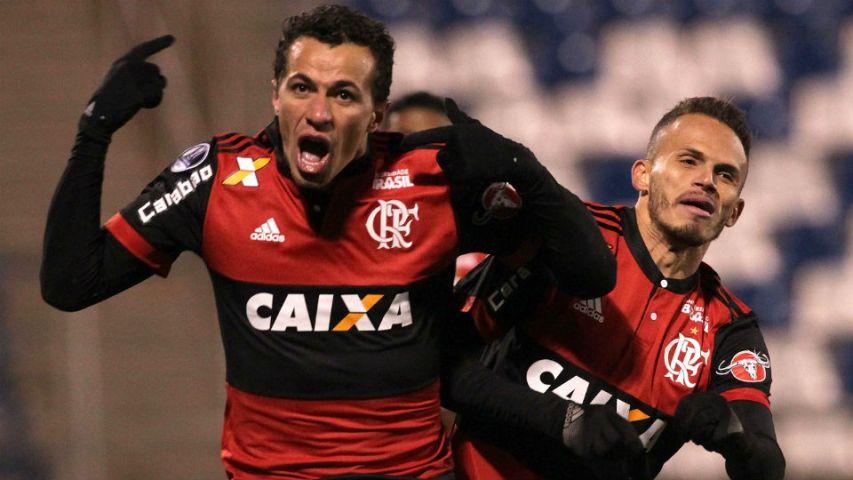Leandro Damião Flamengo 2017 Palestino Sul-Americana gol