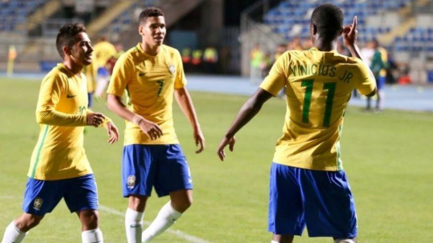 Paulinho Vinicius Junior Seleção Brasileira sub-17