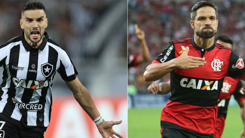 Diego Pimpão Flamengo Botafogo 2017
