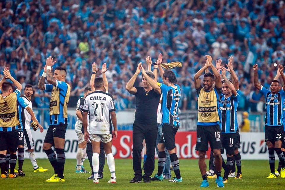Renato Gaúcho Grêmio Libertadores 2017