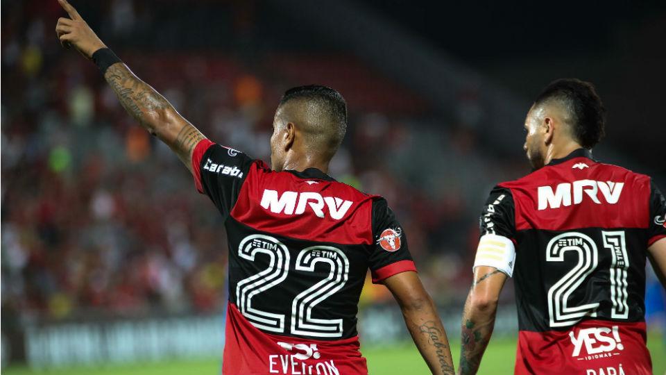 Everton Flamengo Cruzeiro Ilha do Urubu