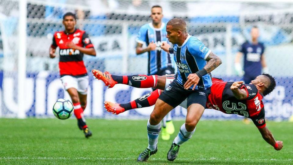 Rafael Vaz Jael Grêmio Flamengo 2017