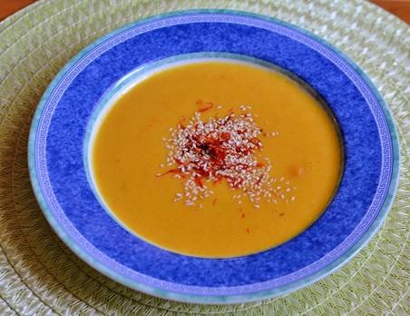 Mrkvovo - zázvorová polievka