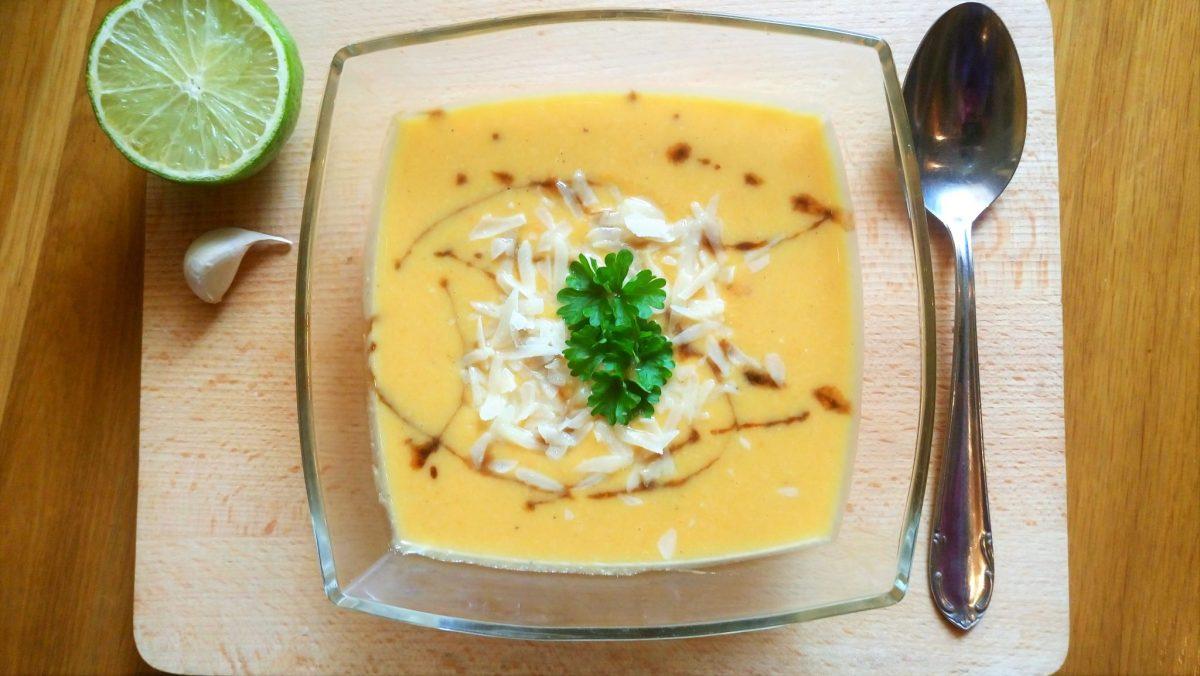 Krémová batátová polievka