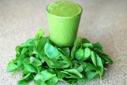 špenátové smoothie