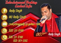 Andy Singh Booking Information Trinidad