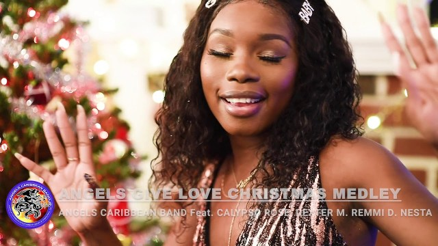 Angels Caribbean Band - Give Love Christmas Medley