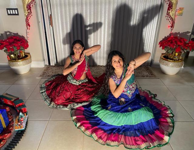 Ashanie and Avanie - Ghar More Pardesiya (Bollywood Dance)