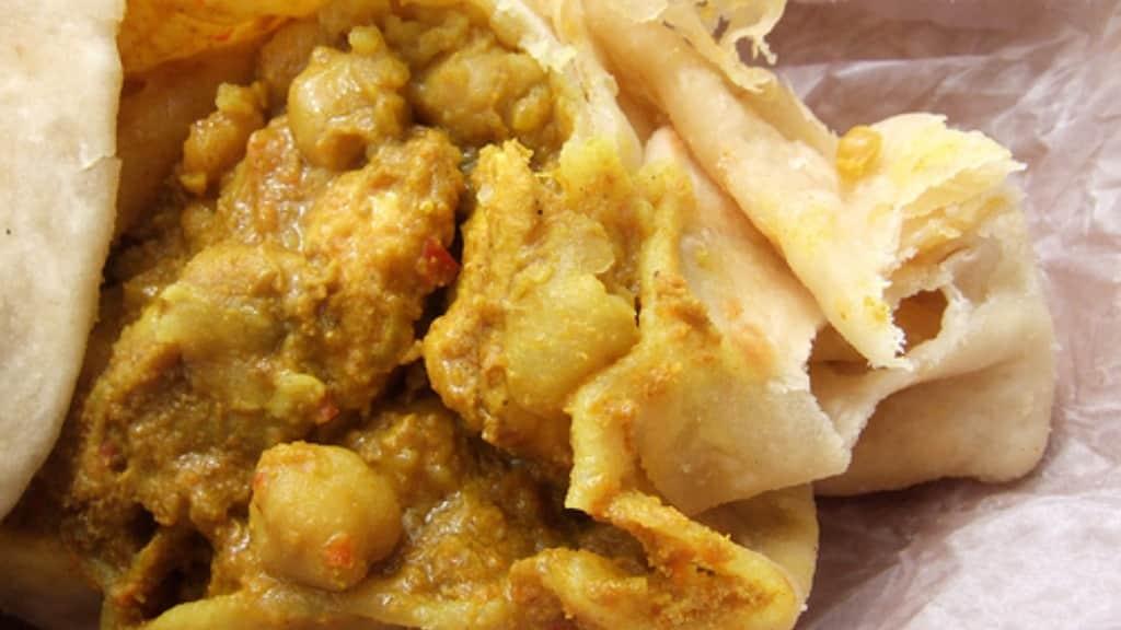 Chicken Roti Has 500 Calories