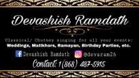 Devashish Ramdath Booking Information Trinidad