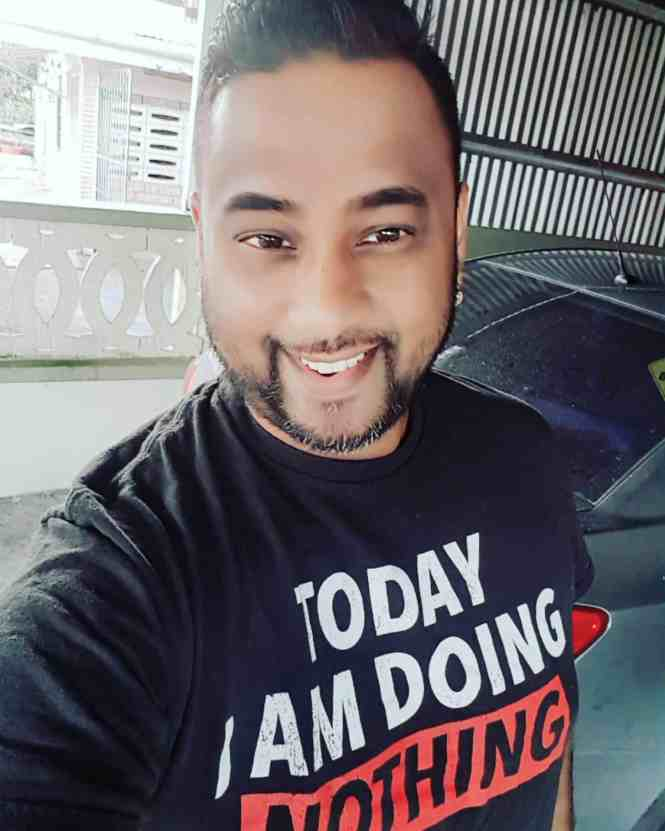 Kishore Wizzy Ramdath Music Producer by Day & Comedian by Night