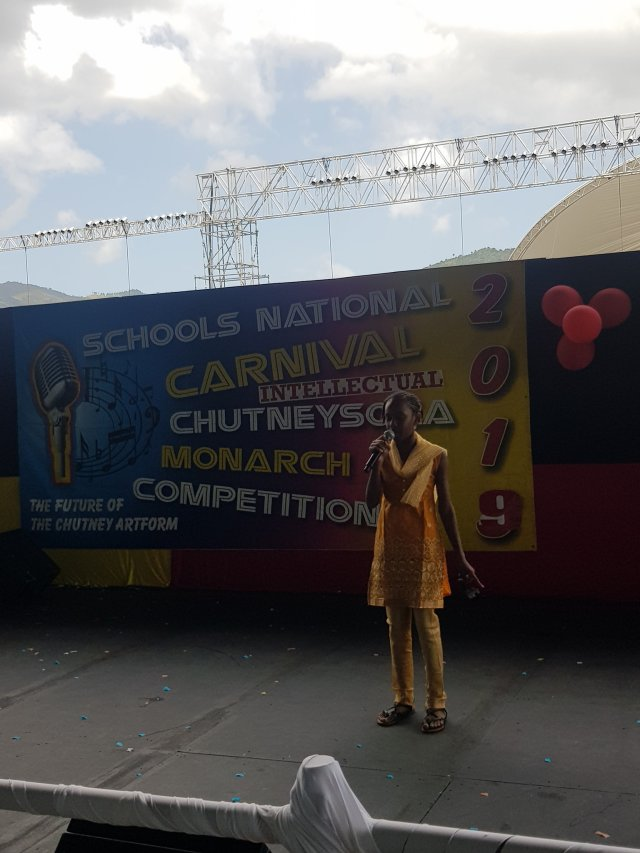 National Carnival Schools Intellectual Chutney Soca Monarch Competition 2019 2