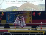 National Carnival Schools Intellectual Chutney Soca Monarch Competition 2019 Two Dancer Girls