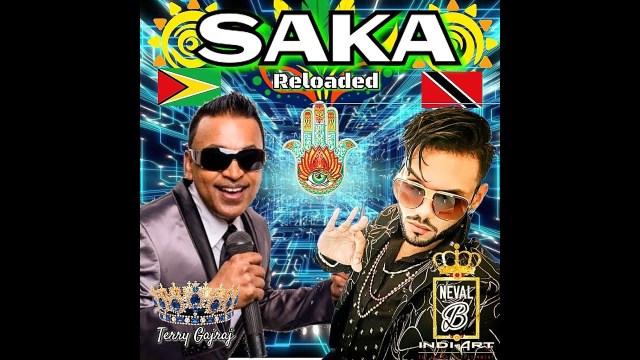 Neval B x Terry Gajraj x INDI ART - Saka Reloaded