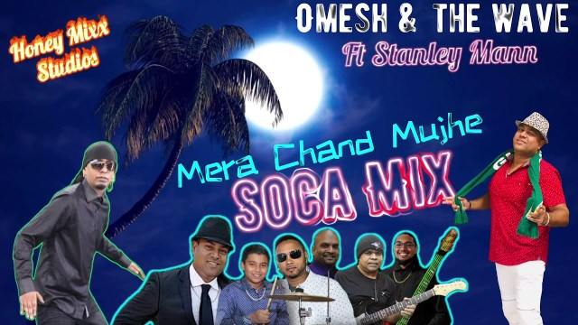 Omesh & The Wave Band ft Stanley Mann - Mera Chand Mujhe