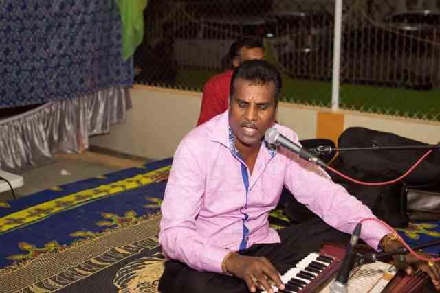 Rakesh Yankarran Harmonium