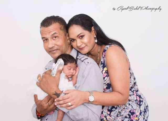 Rennie Ramnarine Baby Girl Raveena Marie