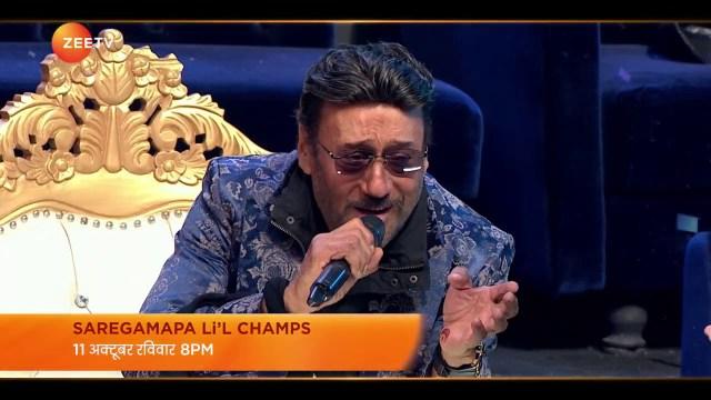 Saregamapa Li'l Champs | Blockbuster Finale | Jackie Shroff | 11th October, 8PM | Promo | Zee TV