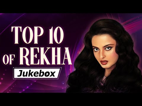 Top 10 Of Rekha | रेखा के गाने | Old Hindi Superhits | Best Bollywood Songs