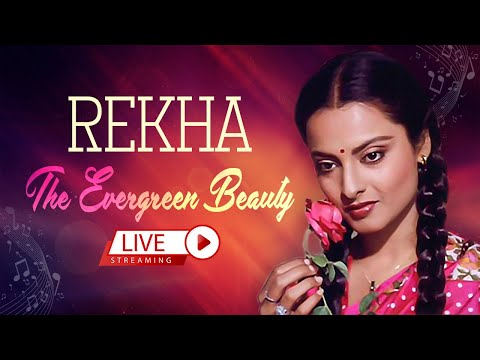 Rekha The Evergreen Beauty | Superhit Song | Bollywood | Back To Back Music