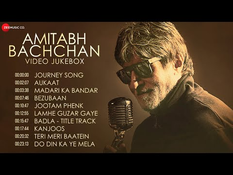 Best Of Amitabh Bachchan | Journey Song, Aukaat, Madari Ka Bandar and More