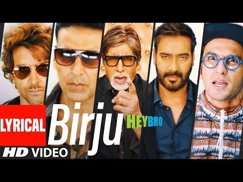 Birju' Lyrical Video Song | Mika Singh, Udit Narayan | Ganesh Acharya, Prem Chopra | T-Series