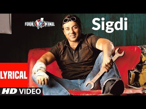 Sigdi Lyrical | Fool N Final | Sameera Reddy, Shahid Kapoor, Sunny Deol | Himesh Reshammiya
