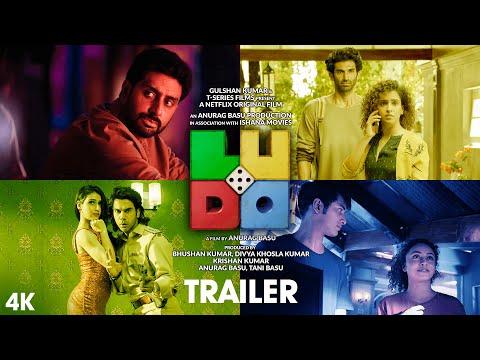 Ludo Official Trailer   Abhishek A Bachchan, Aditya Roy Kapur, Rajkummar Rao, Pankaj Tripathi