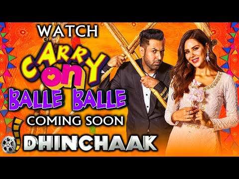 Carry On Balle Balle | World Television Premiere coming soon only on Dhinchaak | Gippy Grewal