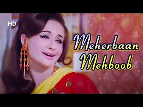 Meherbaan Mehboob | Ansoo Ban Gaye Phool (1969) | Ashok Kumar, Helen, Nirupa Roy | Asha Bhosle Hits