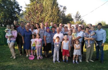 Большая семья Самуила Дмитриева
