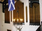 những ống pipe của đàn organ