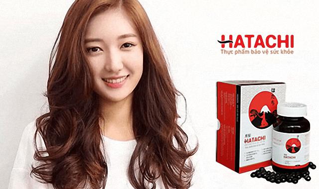 Trị rụng tóc HATACHI – Khắc tinh của tóc bạc, tóc rụng nhiều, sinh lực yếu