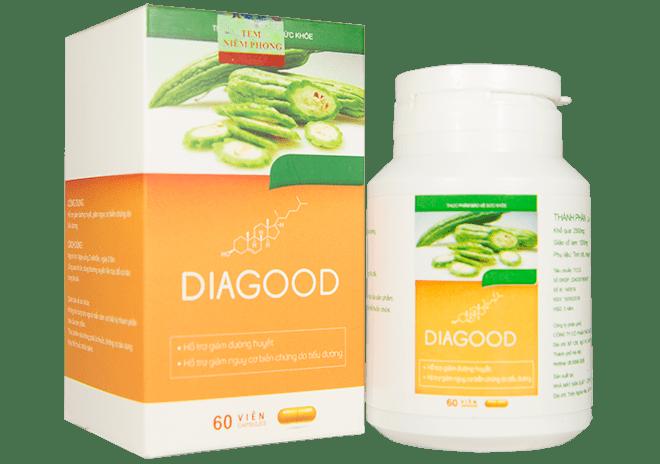 DIAGOOD – Viên uống thảo dược áp dụng CÔNG NGHỆ NANO hỗ trợ điều trị tiểu đường