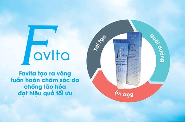 """Kem FAVITA – Đánh thức """"VẺ ĐẸP XUÂN THÌ"""" cho phụ nữ"""