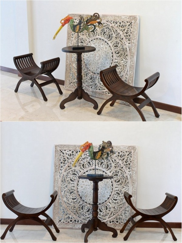 Swedish Interior Design With Indonesian Decor