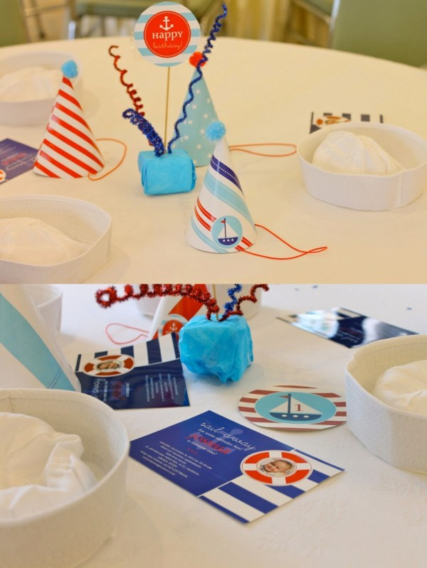 Nautical Birthday Party12