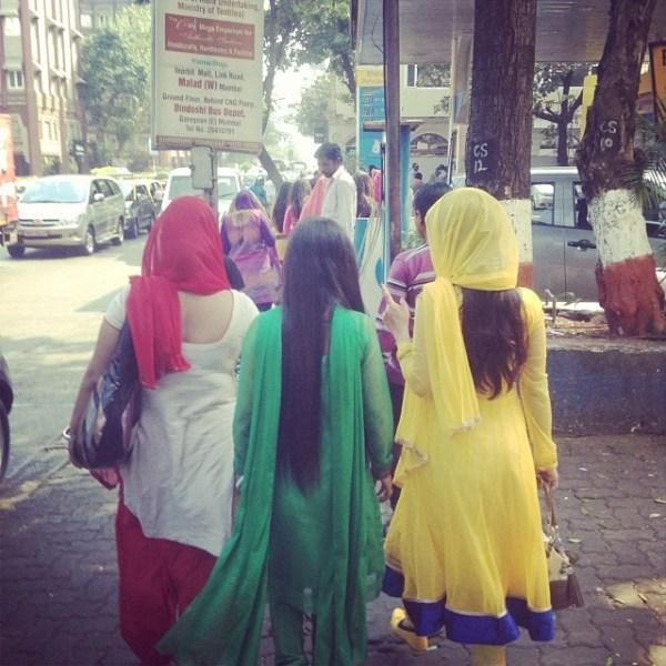 colorful fashion India